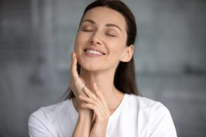 healthy facial skin